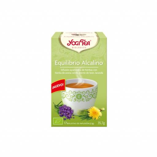 Té Yogi Tea Equilibrio alcalino