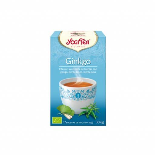 Té Yogi Tea Ginkgo