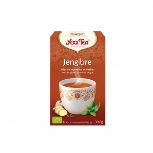 Té Yogi Tea Jengibre