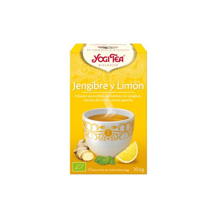 Té Yogi Tea  Jengibre y limón