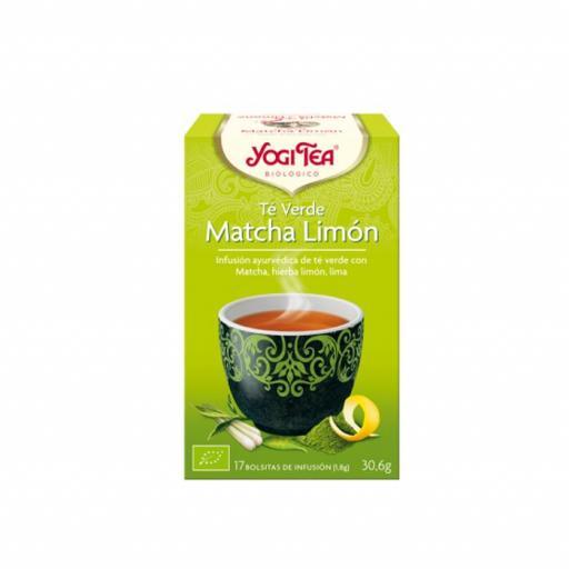 Té Yogi Tea  Té verde matcha limón