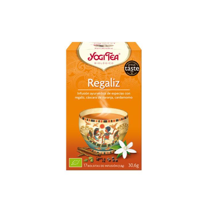 Té Yogi tea Regaliz