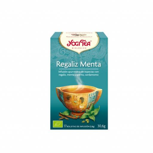 Té Yogi Tea Regaliz Menta