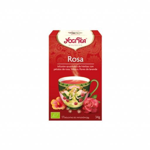 Té Yogi Tea Rosa