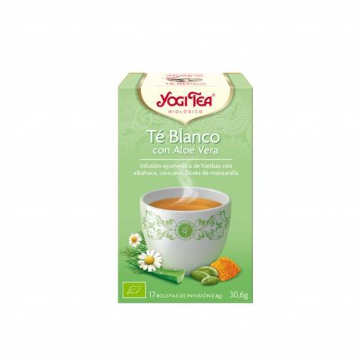 Té Yogi Tea Té blanco con Aloe