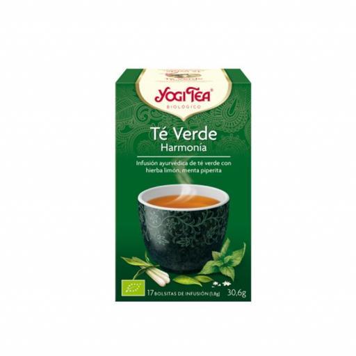 Té Yogi Tea Té verde armonía