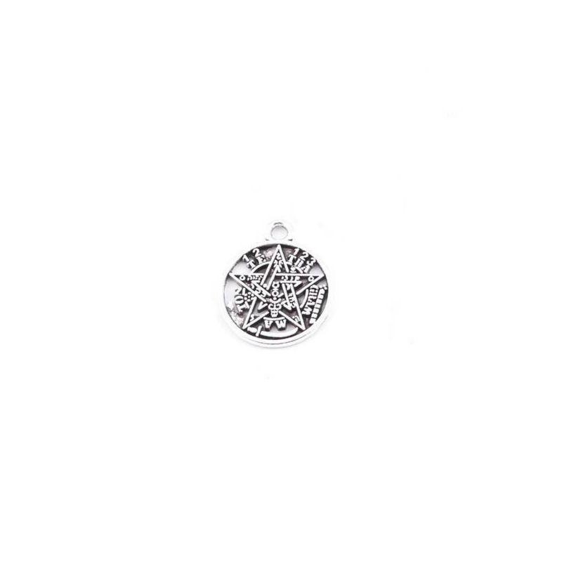 Amuleto Tetragramaton Mini de Metal