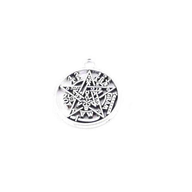 Amuleto de Tetragramaton Pequeño de Metal