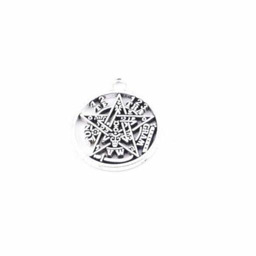 Amuleto de Tetragramaton Pequeño de Metal [0]