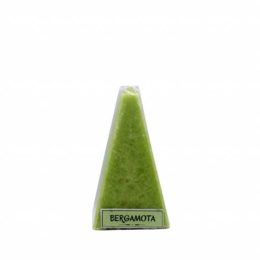 Vela artesanal de bergamota