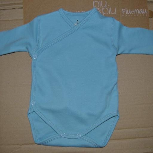 Body M/L Cruzado. Color Azul Cloud. Piu et Nau