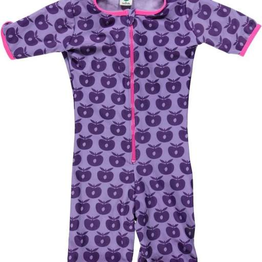 Traje de Baño Proteccion UV+50. Color Morado