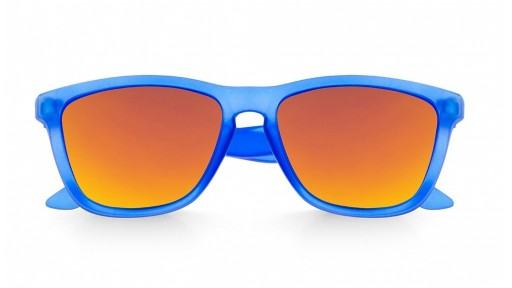 Gafas de Sol - Alpha - Transparent Matte Blue and Ornage [1]