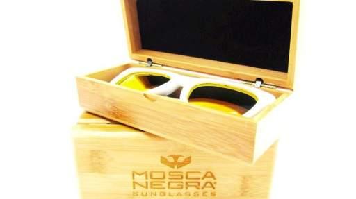Caja Deluxe de bambú para gafas [3]