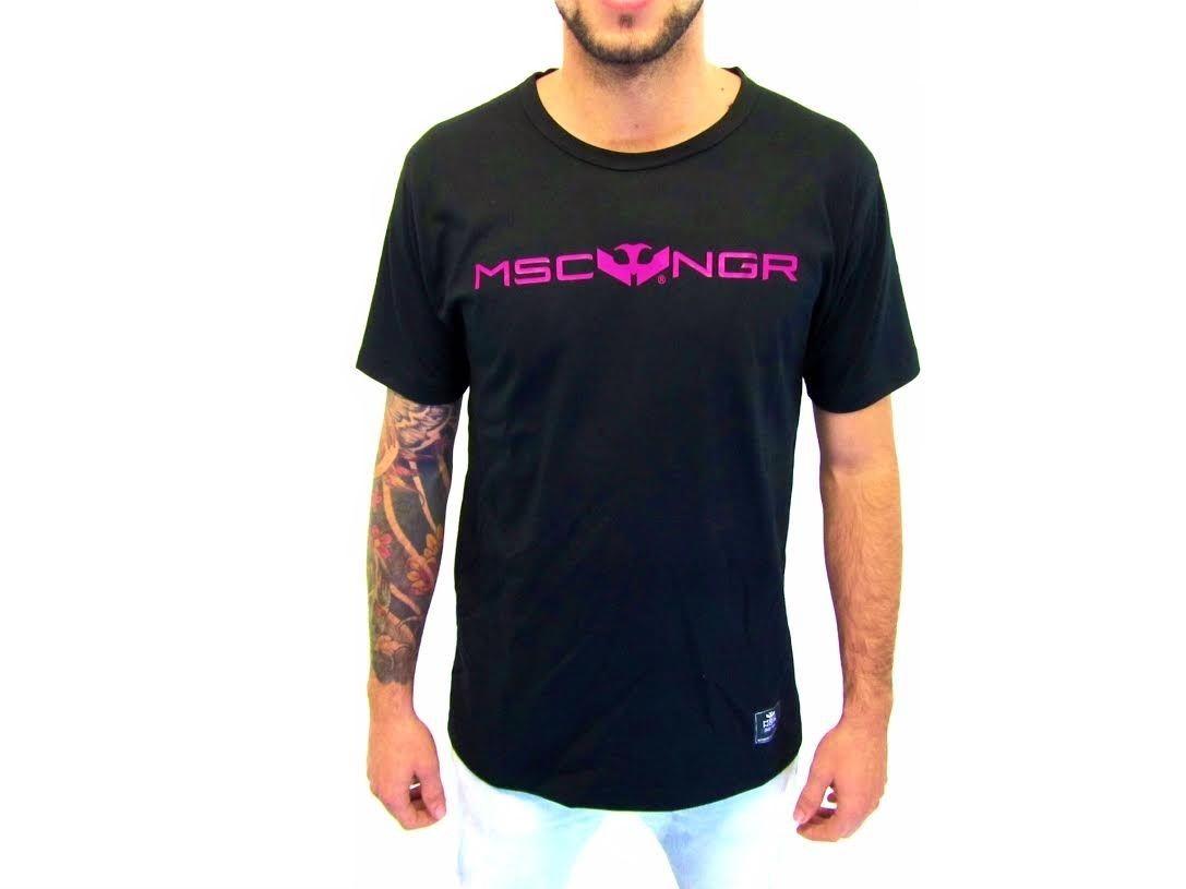 Camiseta Mosca Negra Basic Pink