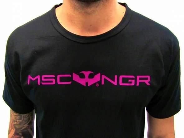 Camiseta Mosca Negra Basic Pink [1]