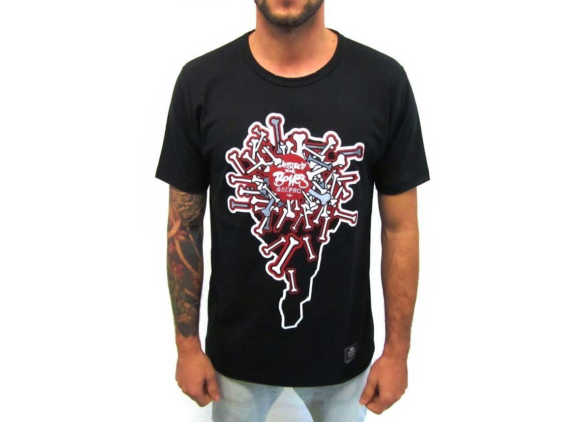 Camiseta Mosca Negra Bones