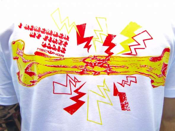 Camiseta Mosca Negra Ollie [1]