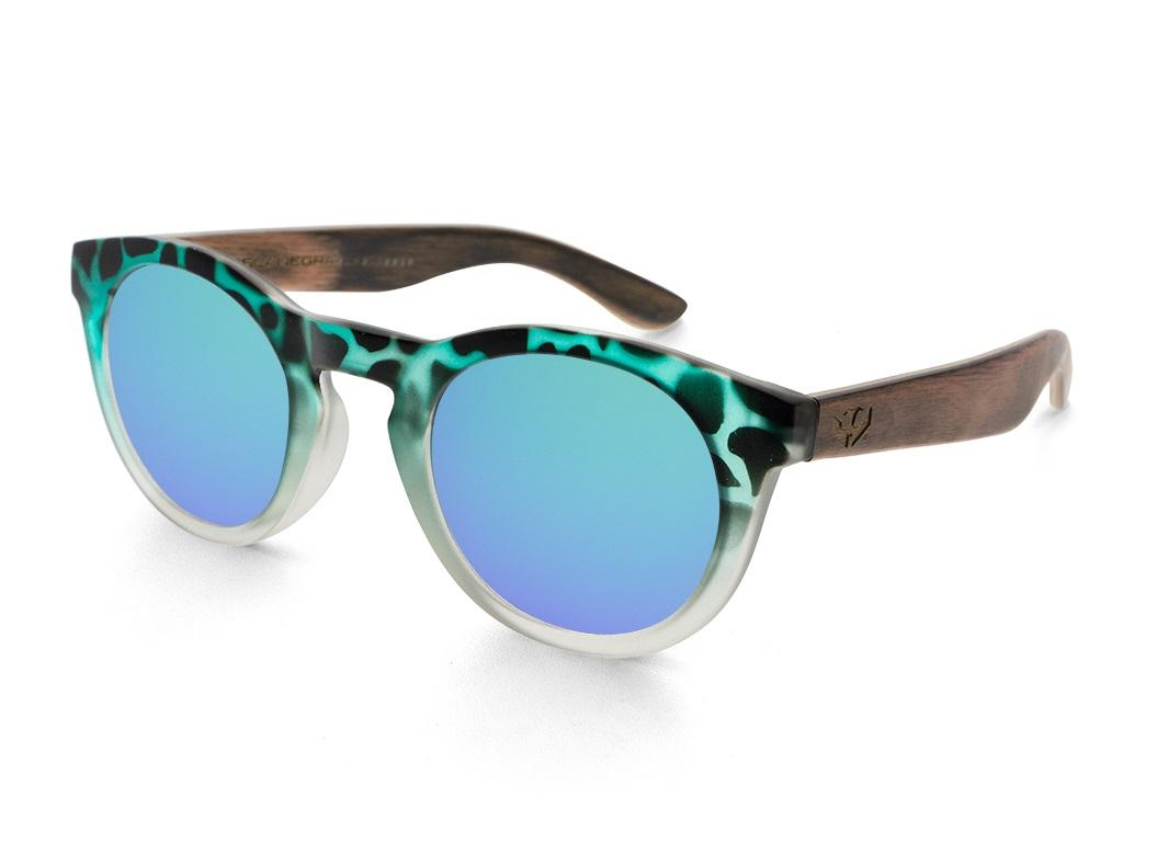 Gafas de sol MIX TURTLE Green and Brown - Polarized