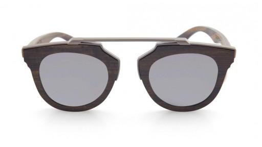Gafas de madera LAGUNA Silver [1]