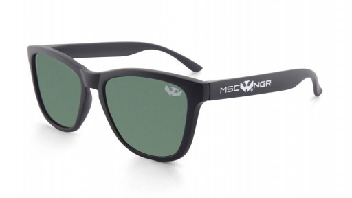 ALPHA SPLASH - Matte Black - Polarized