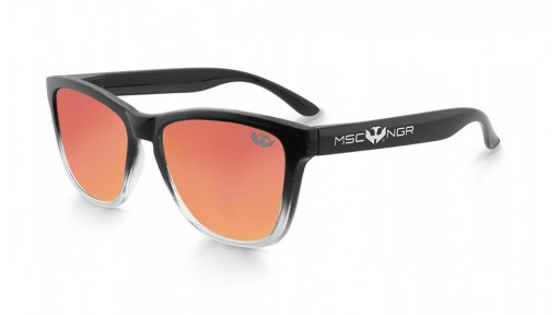 PACK Gafas ALPHA SPLASH Orange + Gorra Plana  [2]