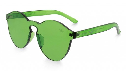 Gafas transparentes GREEN CANDY