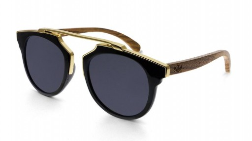 Gafas de sol MIX GOLD Black - Polarized