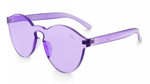 Gafas transparentes PURPLE CANDY