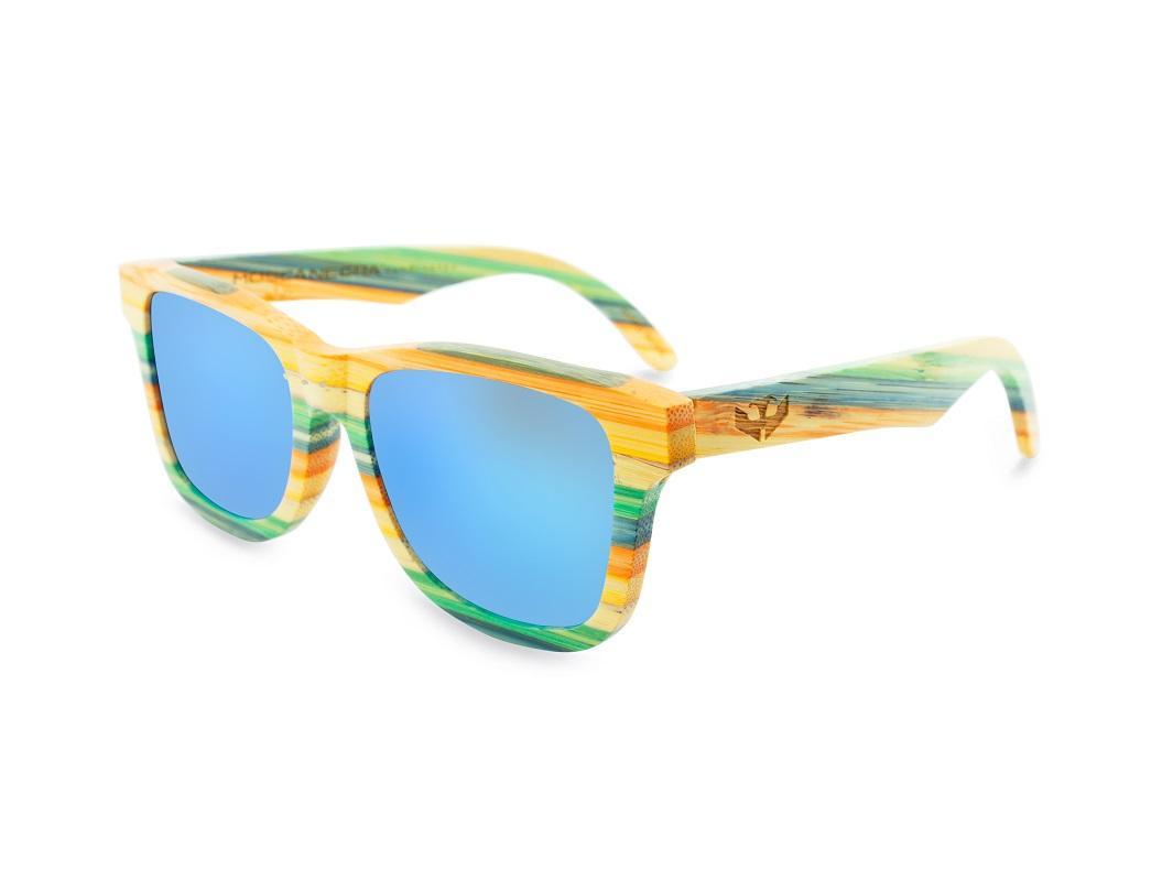 Gafas de Bambú - CoolBam and Ice Blue - Polarized