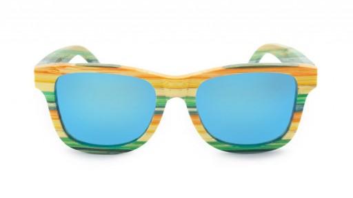 Gafas de Bambú - CoolBam and Ice Blue - Polarized [1]