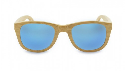 Gafas de Bambú - Bamboo and Ice Blue - Polarized [1]