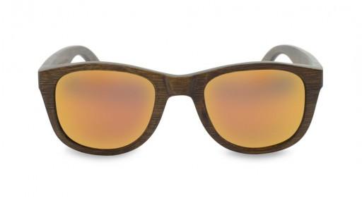 Gafas de Bambú - Brown Bamboo and Orange - Polarized [1]