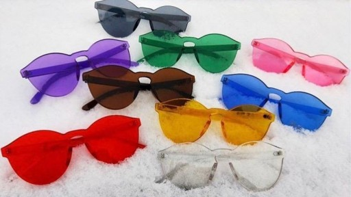 Gafas transparentes PURPLE CANDY [2]