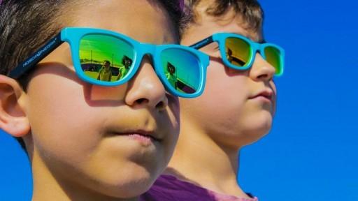 Gafas para niño - MIAMI Yellow - Polarized [3]