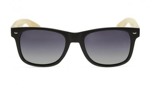 Gafas de madera Mix Basic Black - Polarized [1]