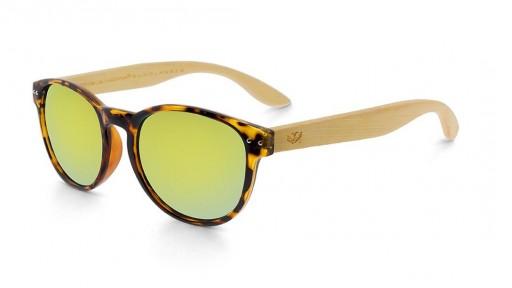 Gafas de madera Mix Omega - Leopard X1 - Polarized