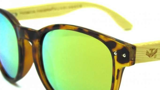 Gafas de madera Mix Omega - Leopard X1 - Polarized [2]