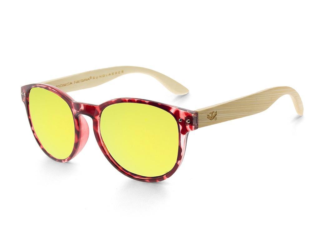 Gafas de madera Mix Omega - Leopard X2 - Polarized