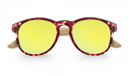 Gafas de madera Mix Omega - Leopard X2 - Polarized [1]