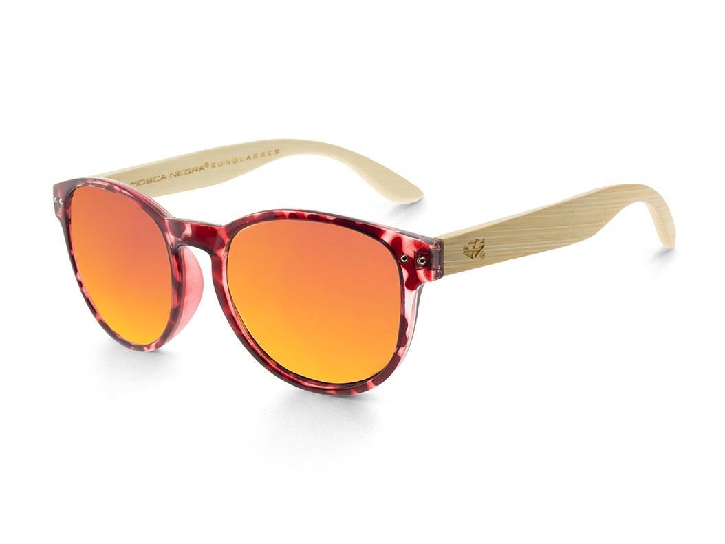 Gafas de madera Mix Omega - Leopard X3 - Polarized
