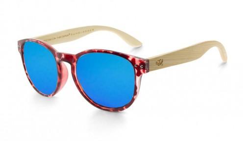 Gafas de madera Mix Omega - Leopard X4 - Polarized