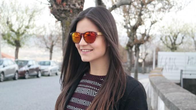 Gafas de madera Mix Omega - Leopard X3 - Polarized [2]