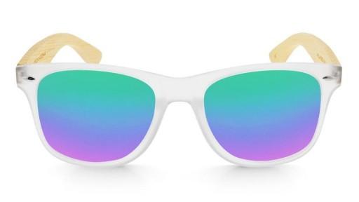Gafas de madera Mix - Fog and Green - Polarized [1]