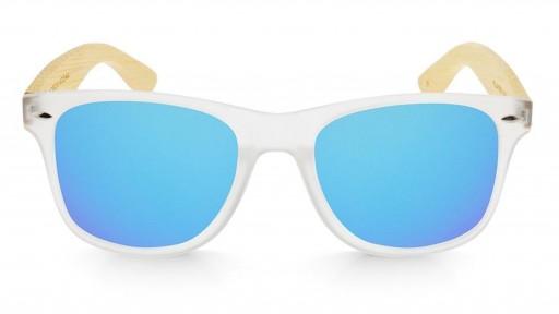Gafas de madera Mix - Fog and Ice Blue - Polarized [1]