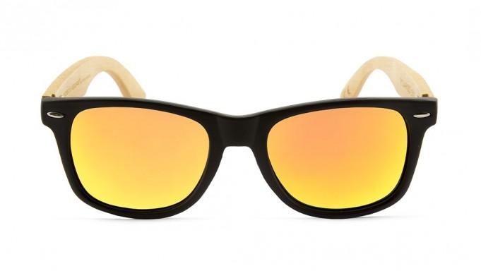 Gafas de madera Mix - Solid Black - Polarized [1]