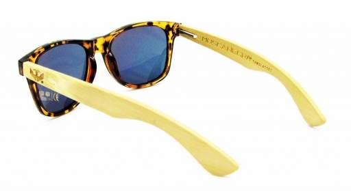Gafas de madera Mix - Leopard - Polarizadas [2]
