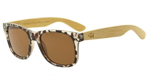 Gafas de madera Mix - Leopard Cafe - Polarized