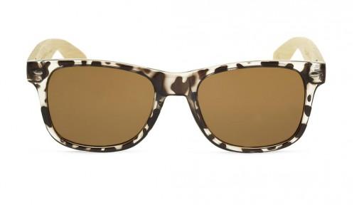 Gafas de madera Mix - Leopard Cafe - Polarized [1]
