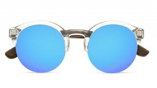 Gafas de madera Mix NOON Blue - PREMIUM [1]